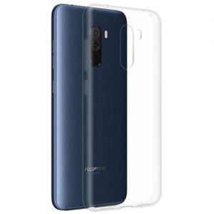 Чехол-накладка силиконовый для Xiaomi Pocophone F1 (прозрачный 1.0мм)