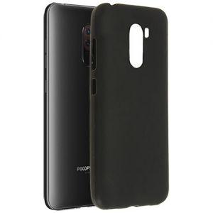 Чехол-накладка силиконовый для Xiaomi Pocophone F1 (черный 0.8мм)