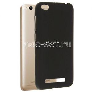 Чехол-накладка силиконовый для Xiaomi Redmi 4A (черный 0.8мм)