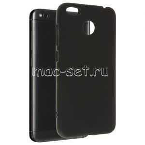 Чехол-накладка силиконовый для Xiaomi Redmi 4X (черный 0.8мм)