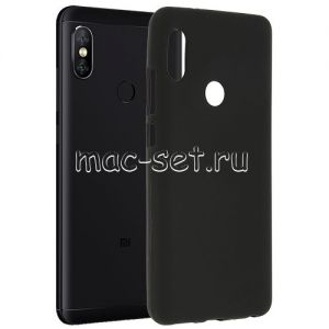 Чехол-накладка силиконовый для Xiaomi Redmi Note 5 / Pro (черный 0.8мм)