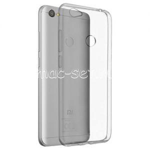 Чехол-накладка силиконовый для Xiaomi Redmi Note 5A Prime (прозрачный 0.5мм)
