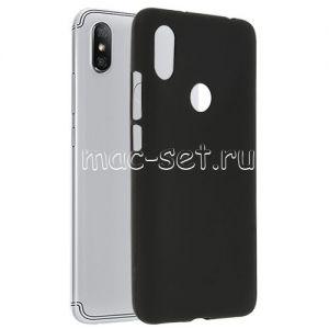 Чехол-накладка силиконовый для Xiaomi Redmi S2 (черный 0.8мм)