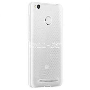 Чехол-накладка силиконовый для Xiaomi Redmi 3s / 3 Pro (прозрачный 0.5мм)