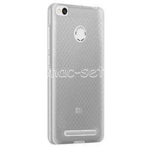 Чехол-накладка силиконовый для Xiaomi Redmi 3s / 3 Pro (серый 0.5мм)