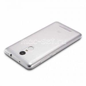 Чехол-накладка силиконовый для Xiaomi Redmi Note 3 / Note 3 Pro (прозрачный 0.5мм)