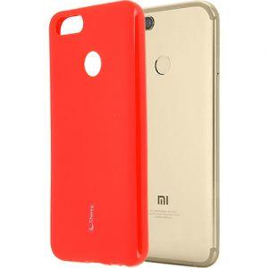 Чехол-накладка силиконовый для Xiaomi Mi A1 / Mi5x (красный) Cherry
