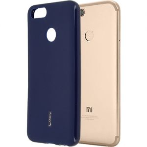 Чехол-накладка силиконовый для Xiaomi Mi A1 / Mi5x (синий) Cherry