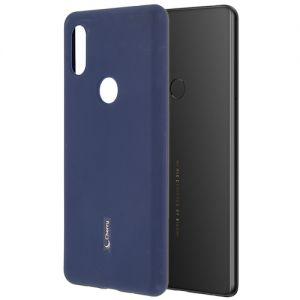 Чехол-накладка силиконовый для Xiaomi Mi Mix 2S (синий) Cherry