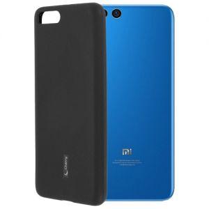 Чехол-накладка силиконовый для Xiaomi Mi Note 3 (черный) Cherry