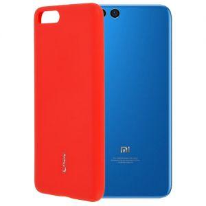 Чехол-накладка силиконовый для Xiaomi Mi Note 3 (красный) Cherry