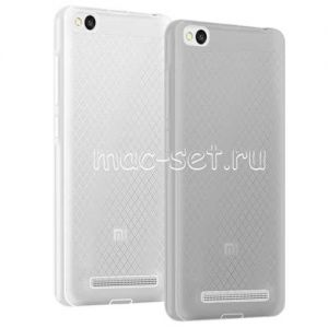 Чехол-накладка силиконовый для Xiaomi Redmi 3 (серый 0.5мм)
