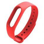 Силиконовый ремешок для Xiaomi Mi Band 2 (красный)
