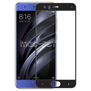 Защитное стекло для Xiaomi Mi6 [на весь экран] Aiwo (черное)