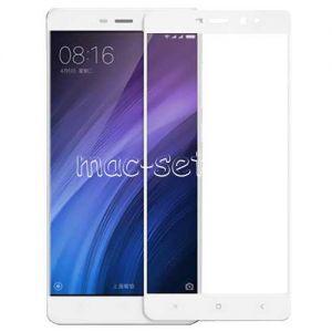 Защитное стекло для Xiaomi Redmi 4 Pro / Prime [на весь экран] (белое)