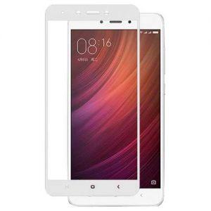 Защитное стекло для Xiaomi Redmi Note 4X [на весь экран] (белое)