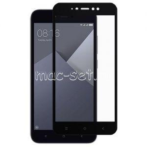 Защитное стекло для Xiaomi Redmi Note 5A Prime [на весь экран] (черное)