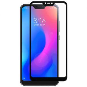 Защитное стекло для Xiaomi Mi A2 Lite [на весь экран] (черное)