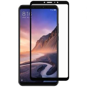 Защитное стекло для Xiaomi Mi Max 3 [на весь экран] (черное)
