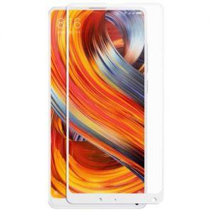 Защитное стекло для Xiaomi Mi Mix 2 / SE [на весь экран] (белое)