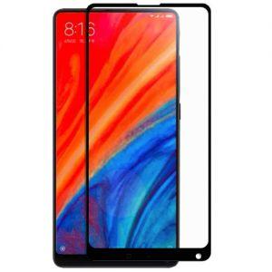 Защитное стекло для Xiaomi Mi Mix 2S [на весь экран] (черное)