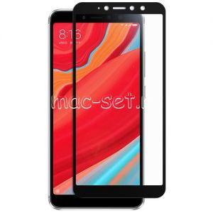 Защитное стекло для Xiaomi Redmi S2 [на весь экран] (черное)