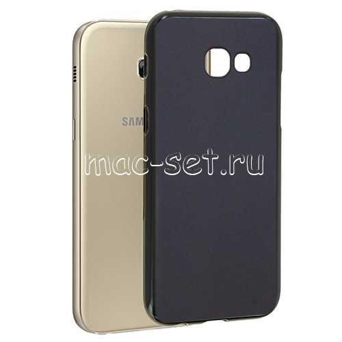 Чехол-накладка Samsung Galaxy A3 (2017) SkinBox Silicone Mint T-S-SGA32017n-005